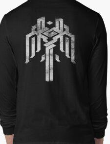 Kirkwall crest grunge white Long Sleeve T-Shirt
