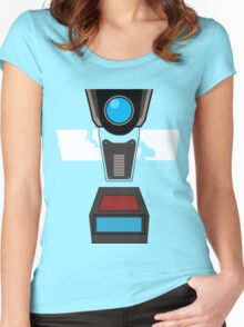 CL4P-TP Face Women's Fitted Scoop T-Shirt