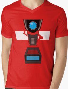 CL4P-TP Face Mens V-Neck T-Shirt