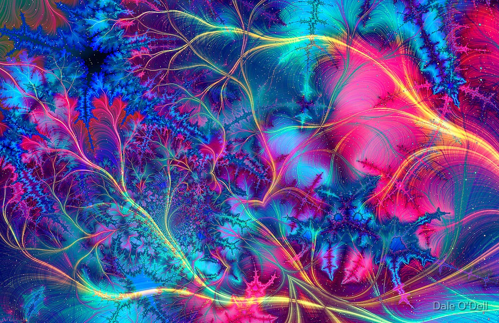Freaky Fractal #1 by Dale O'Dell