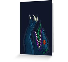 Hyper Caiman Greeting Card