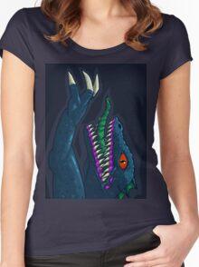 Hyper Caiman Women's Fitted Scoop T-Shirt