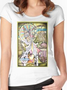 London Dada Doll Women's Fitted Scoop T-Shirt