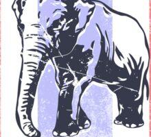 Mekong Expedition - Elephant Camp - Thailand Flag Sticker