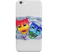 Comedy and Tragedy iPhone Case/Skin