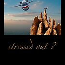stressed out? by notecards