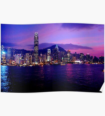 Hong Kong China Poster