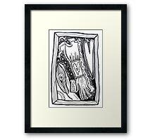 Heart On My Sleeve Framed Print