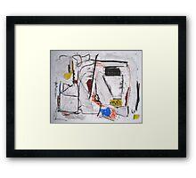 Scavenger Hunt Framed Print
