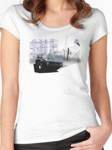 Urban Golf Mk1 Women's Fitted Scoop T-Shirt