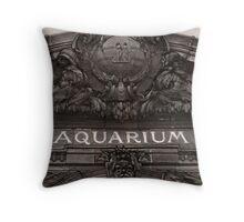 Belle Isle Aquarium Throw Pillow