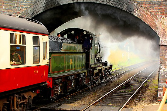 Leaving Weybourne by Norfolkimages