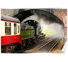 Leaving Weybourne Poster