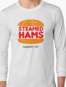 Retro Steamed Hams Long Sleeve T-Shirt