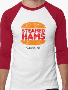 Retro Steamed Hams Men's Baseball ¾ T-Shirt