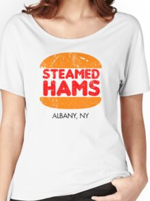 Retro Steamed Hams Women's Relaxed Fit T-Shirt