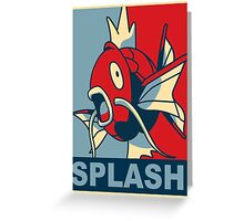 Magikarp 2015 - Splash Greeting Card