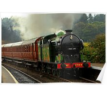 Arriving at Weybourne Poster