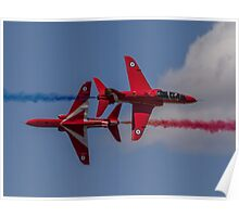 Red Arrows Synchro Pass Poster