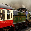 Steaming Out by Norfolkimages