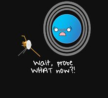 Uranus: Probe What Now? Women's Fitted V-Neck T-Shirt