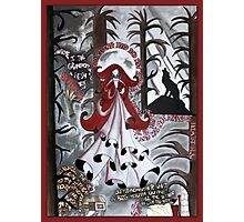 Red Riding Hood Dada Doll Photographic Print