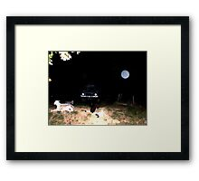 Suppression By Omission Framed Print