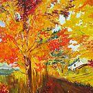 Autumn Path by Faith Coddington Krucina