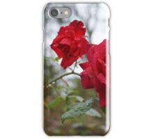 Rose and raindrops iPhone Case/Skin