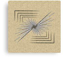 Rice Paper Leaflet Canvas Print