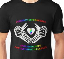 Invisible Illness Heroes Unisex T-Shirt