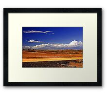 Toodyay After The Bushfire Framed Print