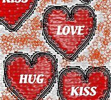 Hearts by Deborah Lazarus