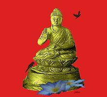 Clematis Buddha Unisex T-Shirt