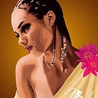 Alicia Keys Vector Portrait by BluntBrown