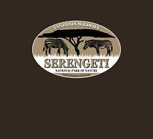 Zebras in Serengeti Womens Fitted T-Shirt