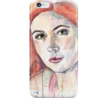 Amelia Pond. Karen Gillan iPhone Case/Skin