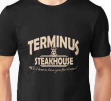 Terminus Steakhouse geek funny nerd Unisex T-Shirt