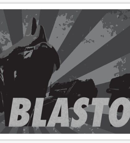 BLASTO Sticker
