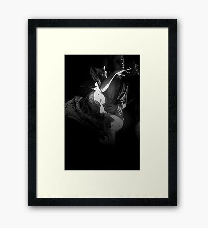 Floating (ltd ed) Framed Print