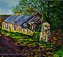 Farmstead on the Ballytober Road, County Antrim by Laura Butler