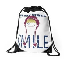 Remember my Smile Drawstring Bag