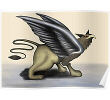 Griffon/Gryphon Digital Painting Poster