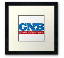 GLOBAL NATIONAL BANC Framed Print
