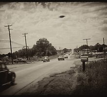 August 1953 sighting. by Dale O'Dell