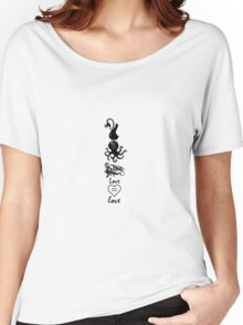 Swan Queen, Dragon Queen, Sea Devil Women's Relaxed Fit T-Shirt