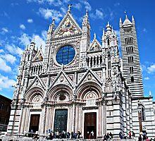 Siena's Duomo-Tuscany by Deborah Downes