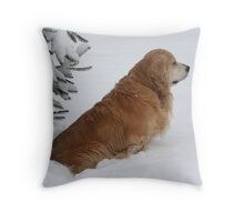 His Moment Of Solitude! Throw Pillow