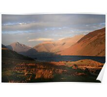 Wastwater Evening Poster