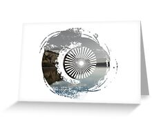 Lake Redefined Greeting Card